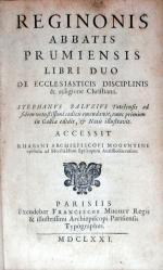 Libri Duo De Ecclesiasticis Disciplinis & religione Christiana...