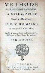 Methode Pour Apprendre Facilement La Geographie..Troisjéme Edition (II)