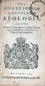Pro Rege Et Populo Anglicano Apologia, Contra Iohannis Polypragmatici...