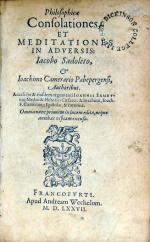 Philosophicae Consolationes, Et Meditationes In Adversis