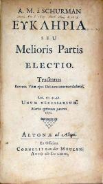 Ευκληρια Seu Melioris Partis Electio (II)