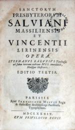 Opera. Editio Tertia