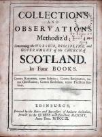 Collections And Observations Methodiz'd; Concerning the Worship...