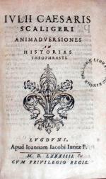 Animadversiones in Historias Theophrasti