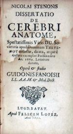 Dissertatio De Cerebri Anatome