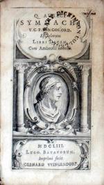 Epistolarum Libri Decem, Cum Ambrosii nonnllis