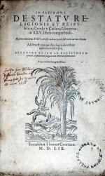De Statv Religionis Et Reipvblicae, Carolo v. Caesare...