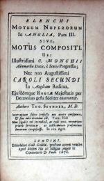 Elenchi Motuum Nuperorum In Anglia, Pars III. Sive, Motus Compositi