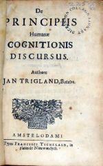 De Principiis Humanae Cognitionis Discursus