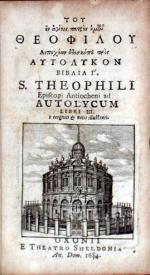 Αυτολυκον Βιβλια Γ'…Autolycum