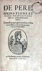 De Peregrinatione Et Agro Neapolitano