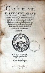 Commentariorum de bello Germanico