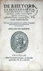 De Rhetorica Ecclesiastica, Sive De Modo Concionandi