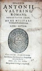 De Re Militari Veterum Romanorum