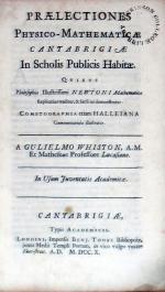 Praelectiones Physico-Mathematicae Cantabrigiae In Scholis Publicis Habitae