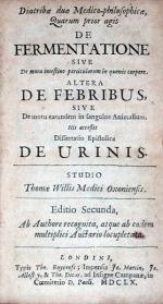 Diatribae duae Medico-philosophicae,.Editio Secunda
