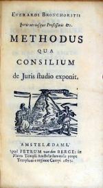 Methodus Qua Consilium de Juris studio exponit
