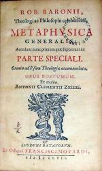 Metaphysica Generalis; Accedunt nunc primùm quae supererant...
