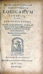 Institvtionvm Logicarvm Synopsis, Sive Rudimenta Logica