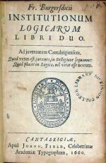 Institutionum Logicarum Libri Duo