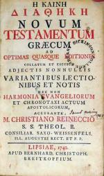 Η Καινη Διαθηκη Novum Testamentum Graecum