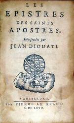 Les Epistres des Saints Apostres