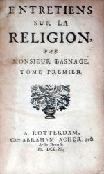 Entretiens Sur La Religion