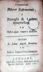 Compendium Historiae Reformationis, A Zuinglii & Lutheri temporibus...