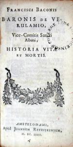 Historia Vitae et Mortis