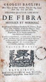 Specimen Quatuor Librorum De Fibra Motrice et Morbosa;…Editio Tertia