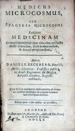 Medicus Microcosmus, seu Spagyria Microcosmi…Editio nova