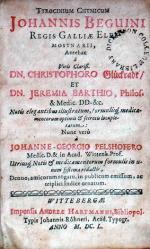Tyrocinium Chymicum