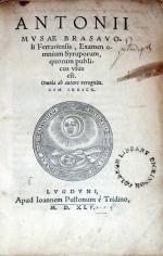 Examen omnium Syruporum, quorum publicus vsus est.