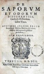 De Saporvm Et Odorvm Differentiis, Causis & effectionibus