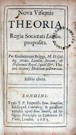 Nova Visionis Theoria, Regiae Societati Londin. proposita
