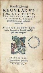 Regvlae Vitae, Sev Virtvtvm Descriptiones In Praecepta Decalogi...