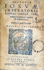 Historia Iosvae Imperatoris Popvli Israel...