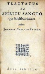 Tractatus De Spiritu Sancto qui fidelibus datur