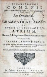 Ars Ornatoria, sive Grammatica Elegans, et Eruditionis Scholasticae...