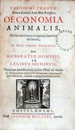 Oeconomia Animalis, Ad circulationem sanguinis breviter delineata...
