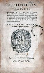 Chronicon…Expositvm et Avctvm Mvltis et veteribvs et recentibus historiis