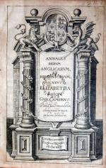 Annales Rervm Anglicarvm, Et Hibernicarvm, Regnante Elizabetha...