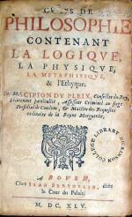 Corps De Philosophie Contenant La Logiqve, La Physiqve...