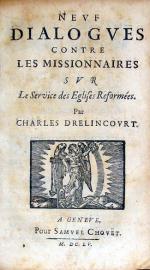 Nevf Dialogves Contre Les Missionnaires Svr Le Service des Eglises Reformées
