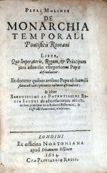 De Monarchia Temporali Pontificus Romani Liber...
