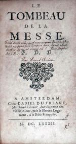 Le Tombeau de la Messe. P. D. D