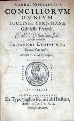 Narratio Historica Conciliorvm Omnivm Ecclesiae Christianae...