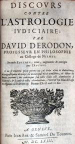 Discovrs Contre L'Astrologie Ivdiciaire