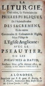 La Liturgie, C'est a dire, Le Formulaire des Prieres Publiques...