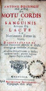 De Motu Cordis Et Sanguinis Itemque De Lacte Ac Nutrimento Foetus...